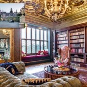Biblioteki w luksusowych domach