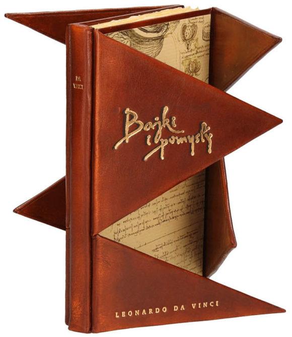 Książka Leonardo da Vinci, Bajki i pomysły na ekskluzywny prezent