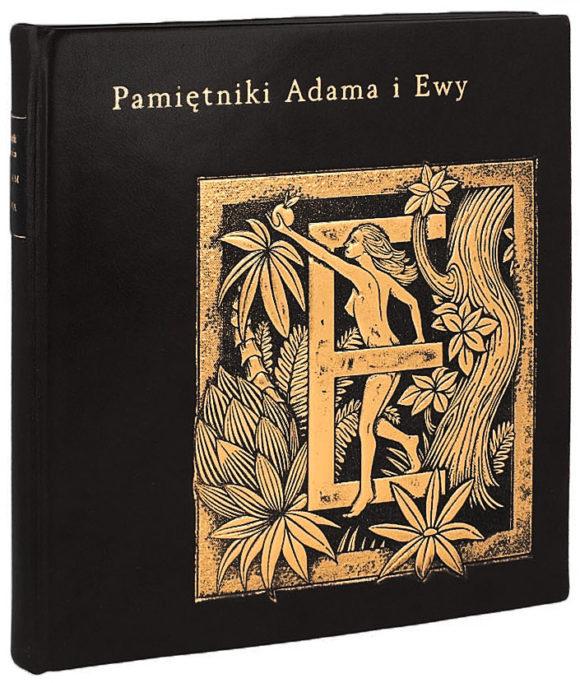 Książka Twaina Marka, Pamiętniki Adama i Ewy idealna na ekskluzywny prezent
