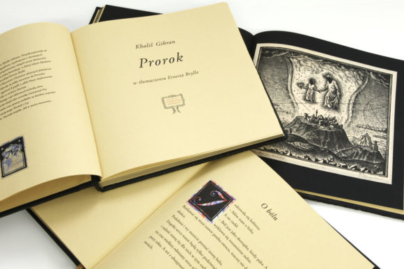 Bogato ilustrowane wydanie książki Gibrana Khalila, Prorok