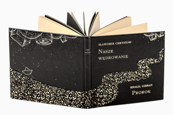 Książka Gibrana Khalila, Prorok w skórzanej oprawie