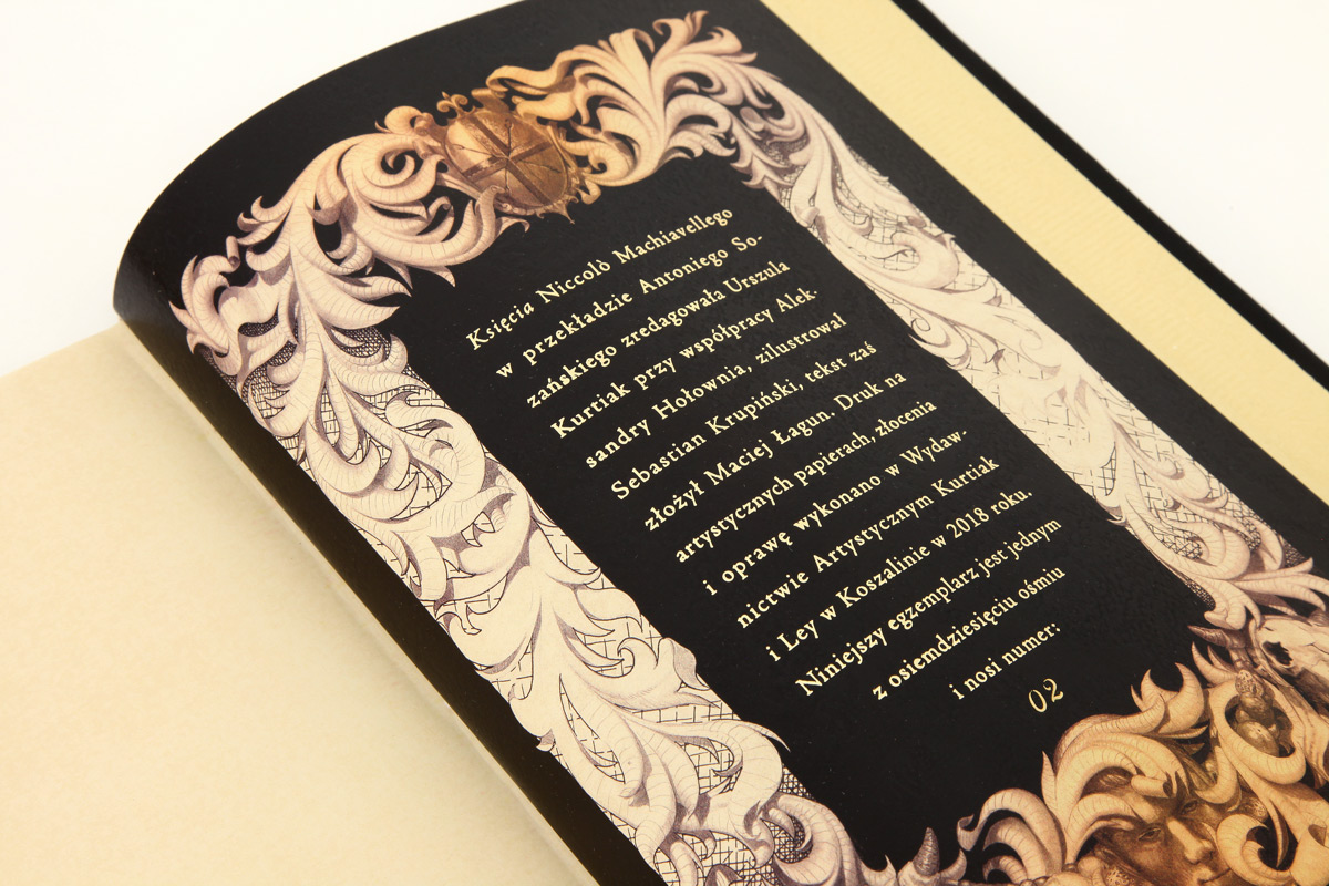 Bogato ilustrowana książka Machiavellego Niccolò, Książę