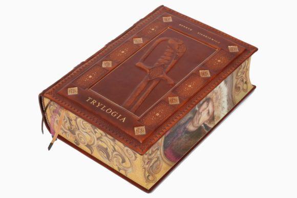 Pięknie malowana książka Sienkiewicza Henryka, Trylogia